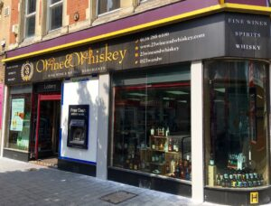 Shop Front 23 Wine & Whiskey