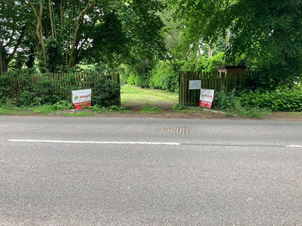 Westfield Lane entrance
